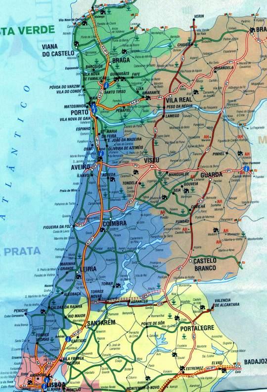 mapa do litoral norte de portugal carga transporte logistica portugal mapa do litoral norte de portugal